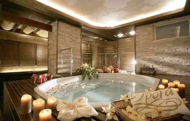 Bathroom Hitdecors Home Interior Trends Part 3 Spa Bathroom Design Indoor Jacuzzi Zen Bathroom Design