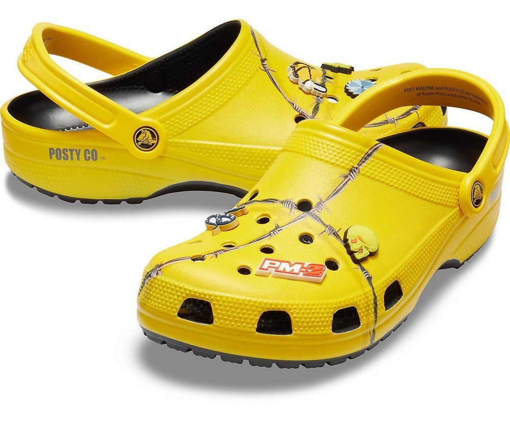 Post Malone X Crocs Barbed Wire Clog (Limited Edition