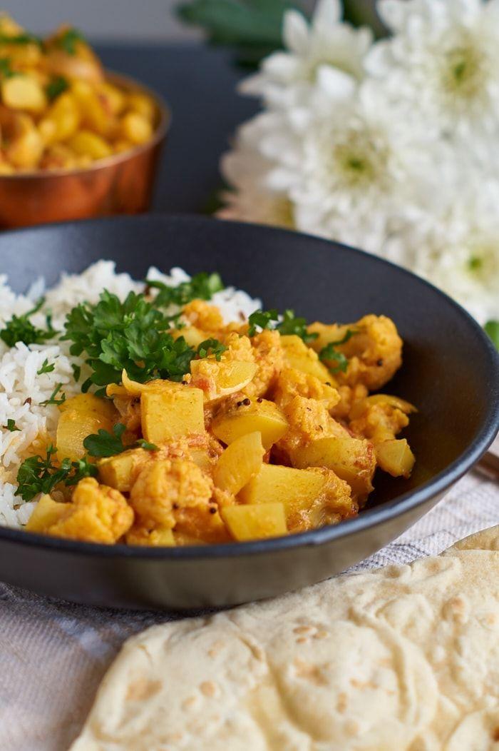 Aloo Gobi Masala – Kartoffel Blumenkohl Curry | Rezept ...