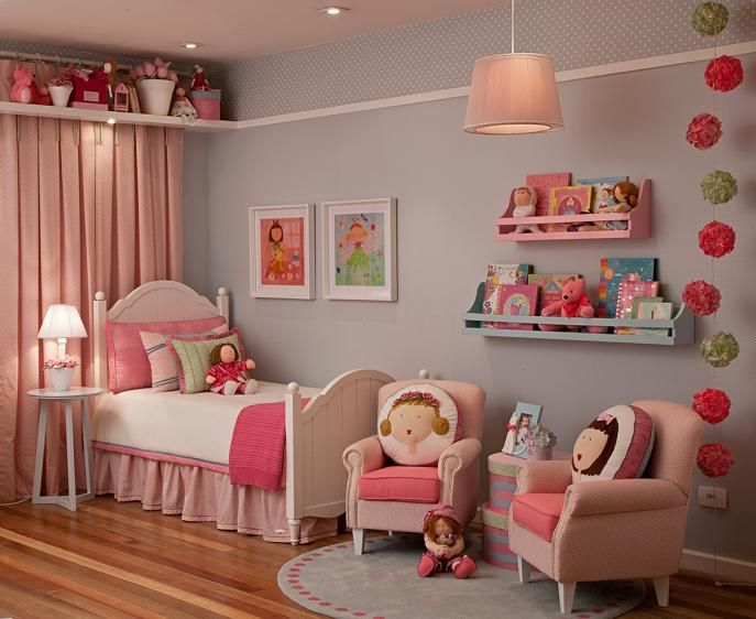 decora o nina para quarto de menina decora o de quarto infantil vanessa guimar es baby. Black Bedroom Furniture Sets. Home Design Ideas