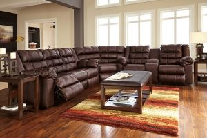 Brolayne Wide Seated Sofa And Love Set. Available At All American Furniture  In Lakeland, FL