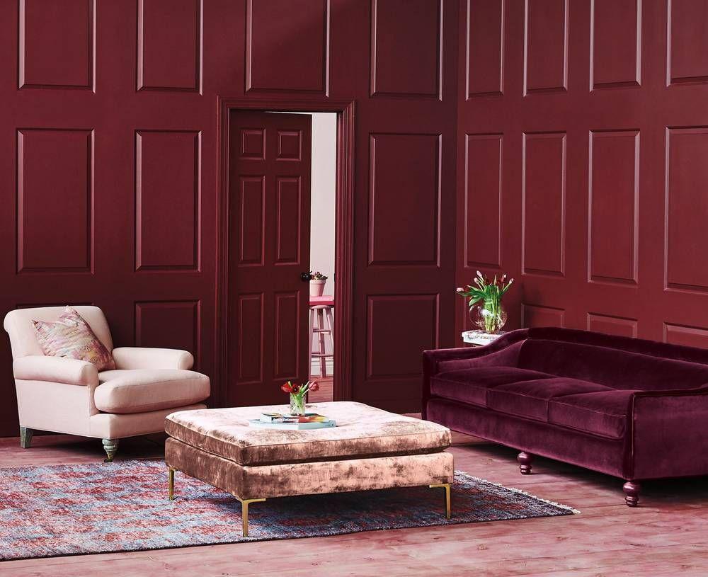 tendance le monochrome color chez soi photo anthropologie deco monochrome couleur peinture meuble tendance