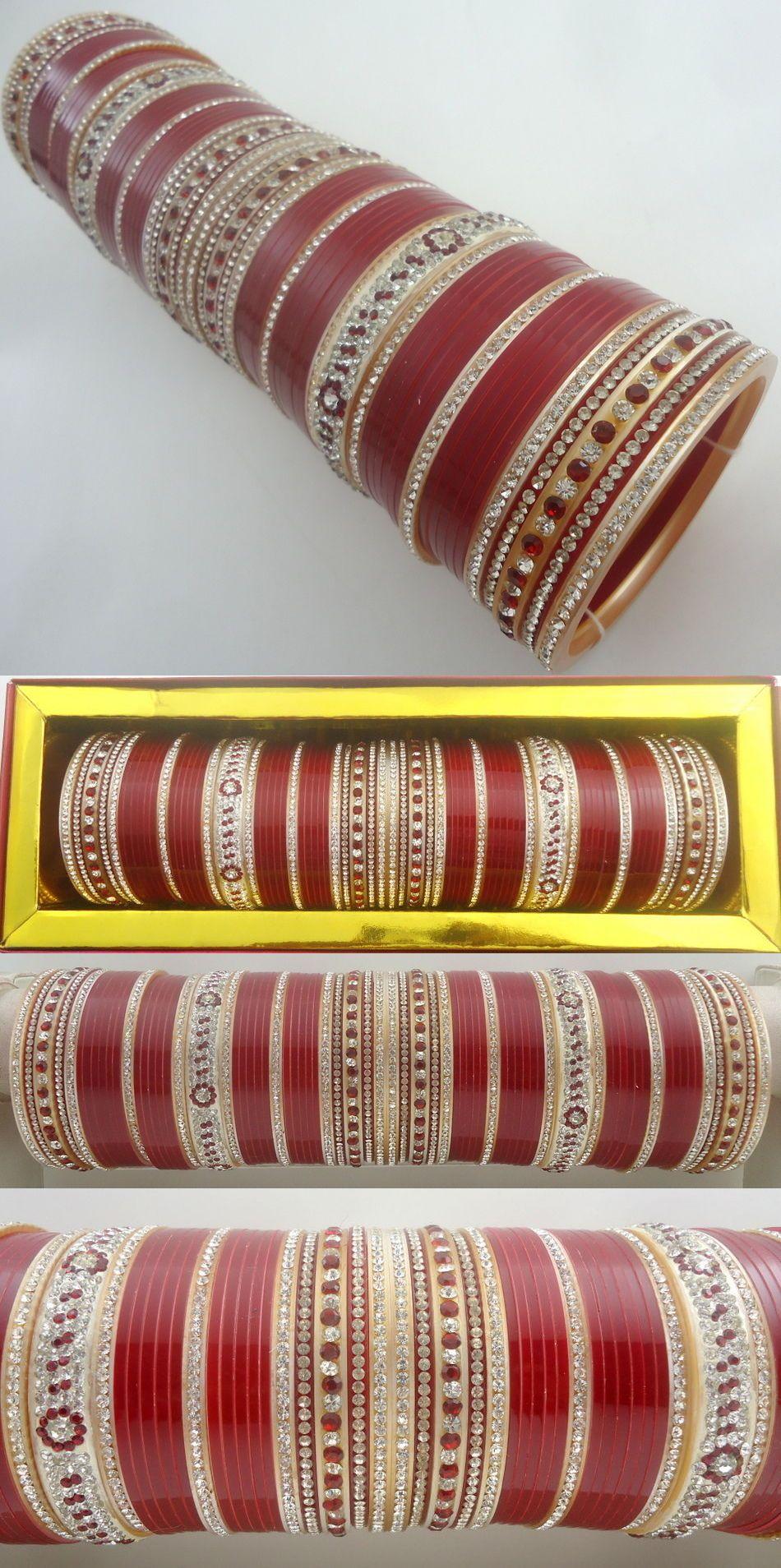 Indial Dulhan New Chudi Set Fashion Collection Ethnic Bangle Suhag Chura Set Bridal & Wedding Party Jewelry