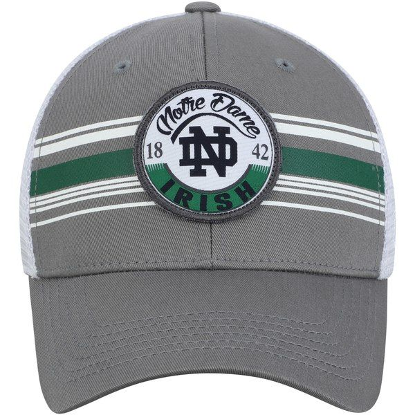 a495c697eb7cf Men s Top of the World Gray White Notre Dame Fighting Irish ...