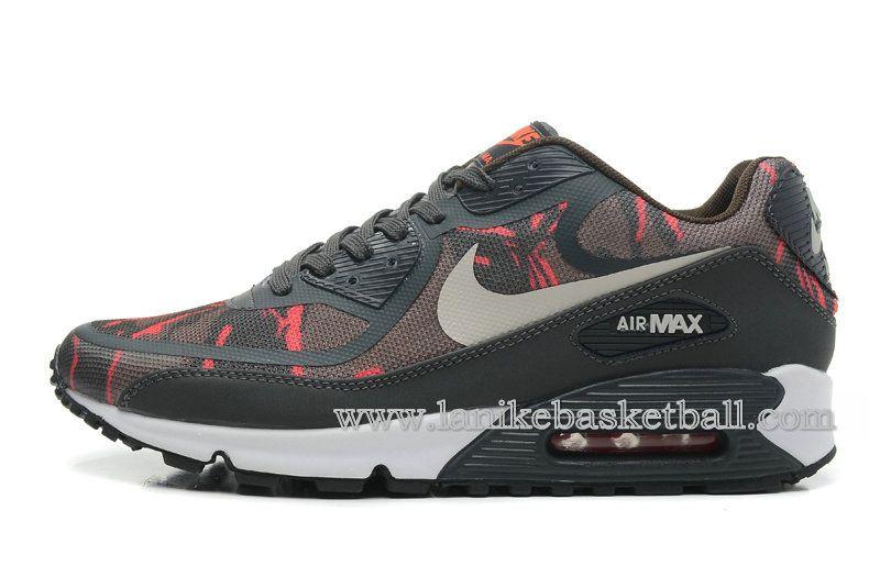 Nike Air Max 90 Premium Tape Chaussures De Basketball Pour Homme ...