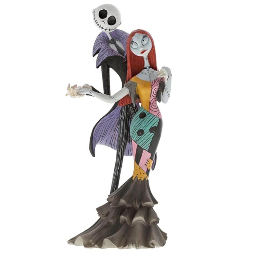 Disney Haute Couture Nbx Jack And Sally Figurine Nightmare Before Christmas Drawings Jack And Sally Sally Nightmare Before Christmas