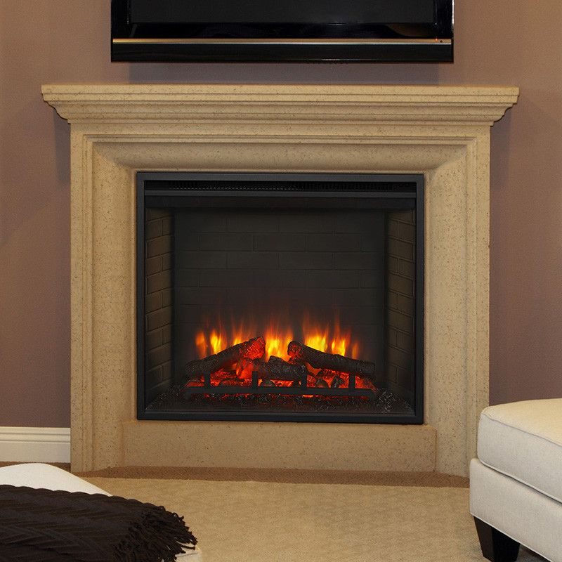 Simplifire Built In Electric Fireplace In 2020 Built In Electric