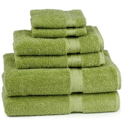 Cambridge Towel Company Grand Egyptian Camrbidge Certified Giza 6 Piece Towel Set Color: