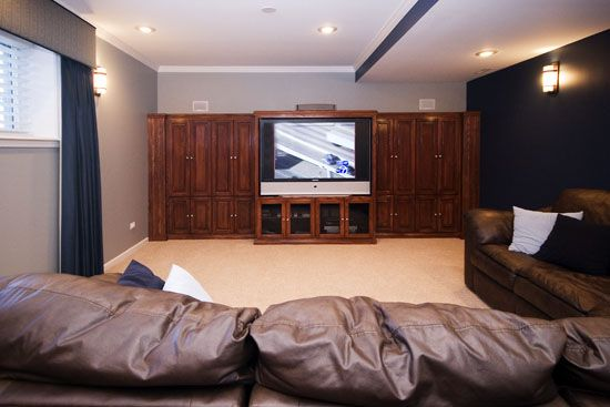 Basement Theater Basement Makeover Home Cool Rooms