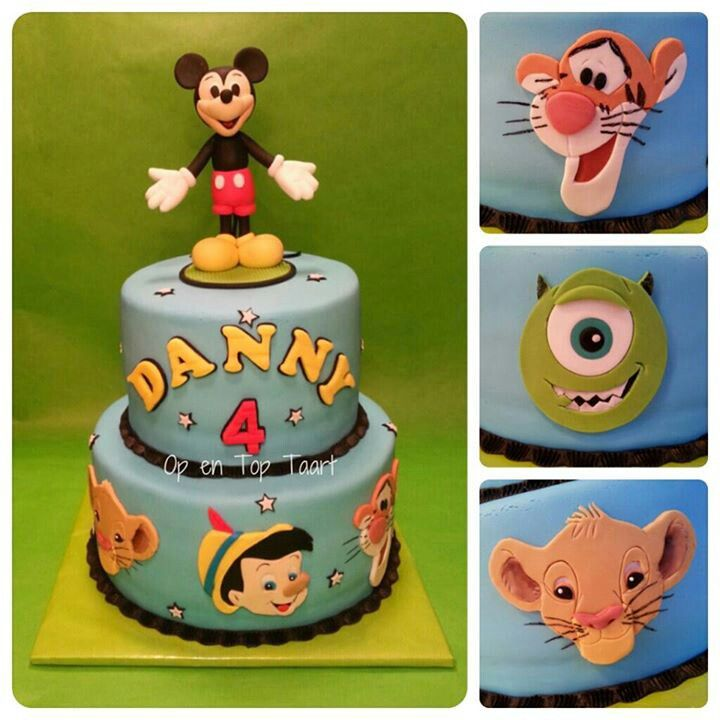 Any Disney Character Can Be Part Of This Cake Cake