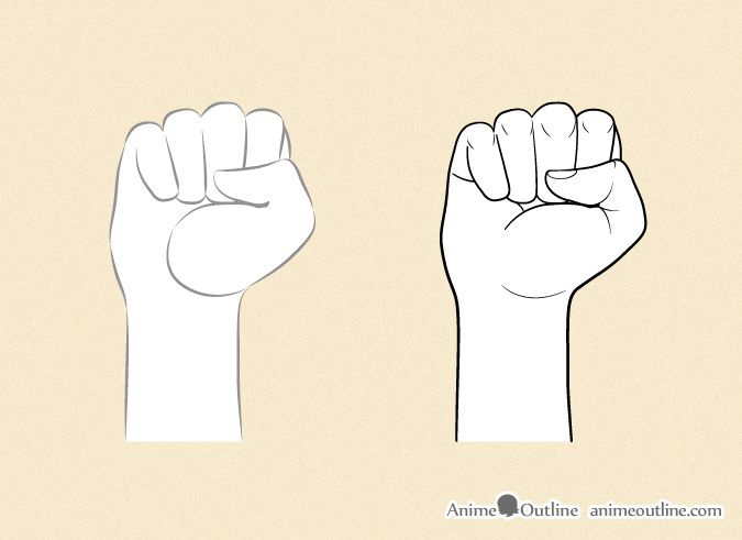 Drawing An Anime Fist Details Anime Hands Drawing Anime Hands Anime Drawings