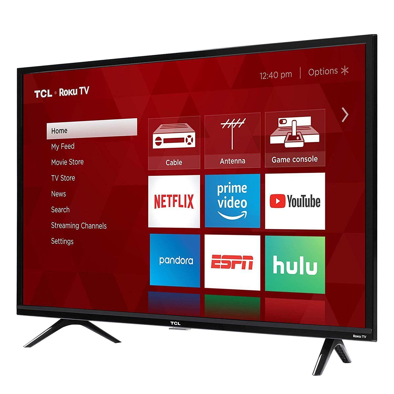 Tcl 3 Series 32 Inch Hd Led Roku Smart Tv In 2020 Smart Tv Tvs