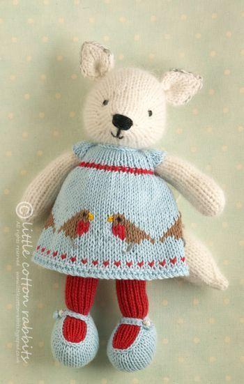 Photo of Fianna #knitteddolls Fianna