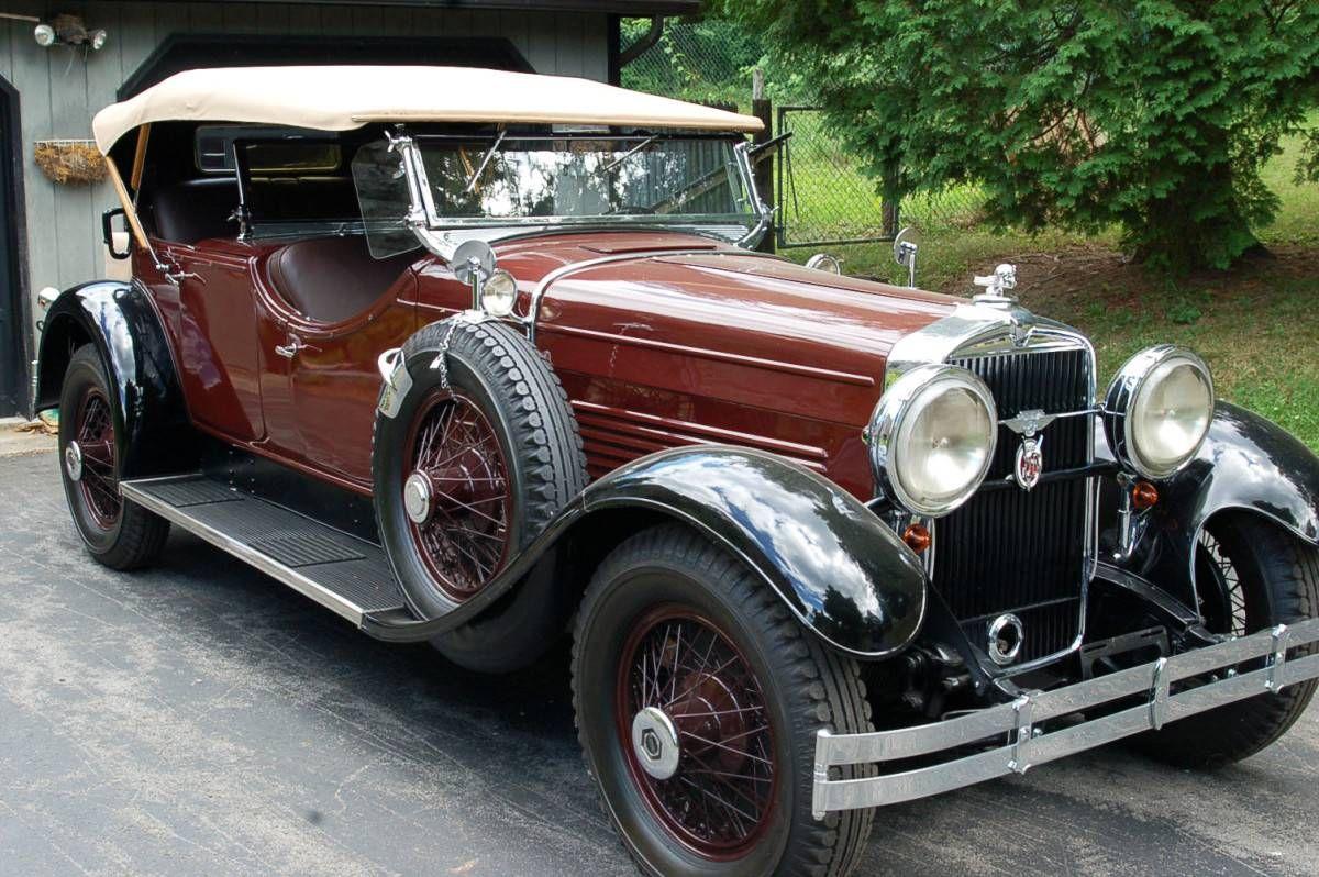 1929 Stutz Dual Cowl Phaeton Model M - (Stutz Motor Co. Indianapolis ...