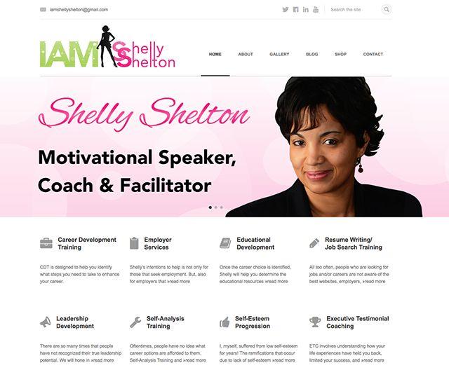 Image Result For Motivational Speaker Website Design