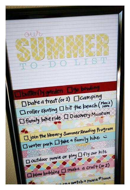 Summer To Do S Ultimate Diy Board Pinterest Lista De Tareas