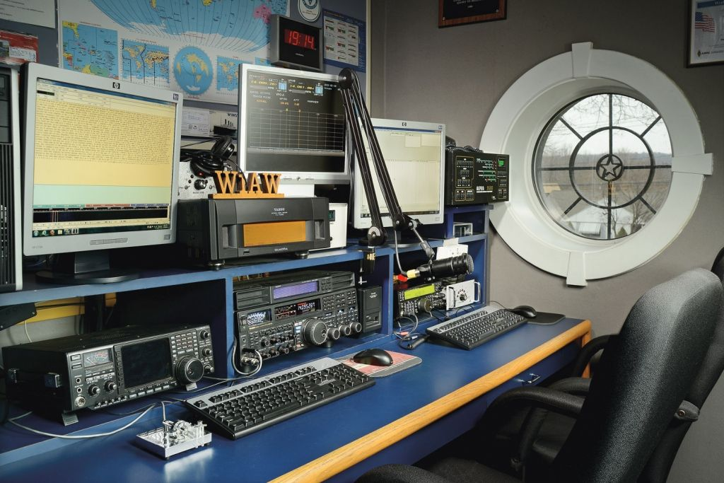 Arrl Hq Tour And Operating W1aw Video Ham Radio Tours