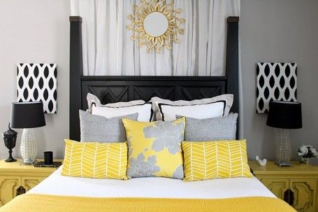1000+ images about gray bedroom ideas on pinterest | grey, yellow