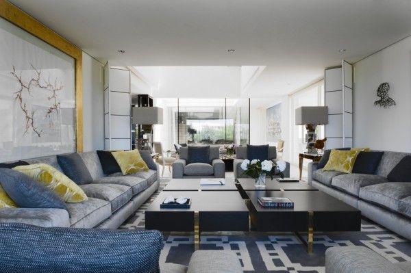 Lorenzo castillo: tonos grises con amarillo y azul