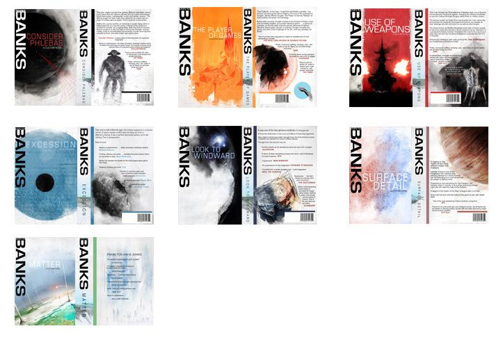 Amazing fan cover art for Iain M. Banks' Culture series. #culture ...