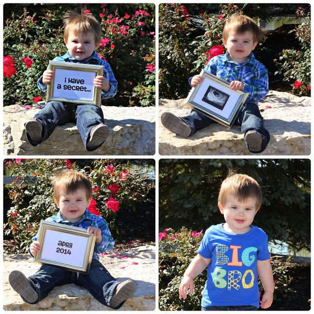 1000 images about Baby – Cute Ways to Announce Second Baby