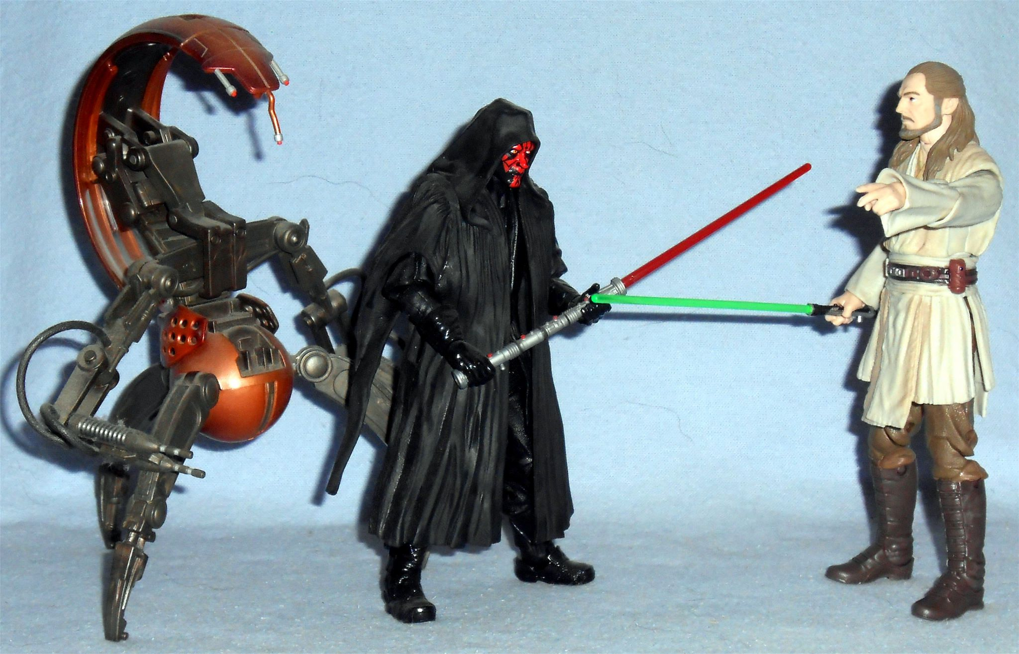 Darth Maul and Qui-Gon Jinn Star Wars Solo 3 3//4-Inch Action Figure