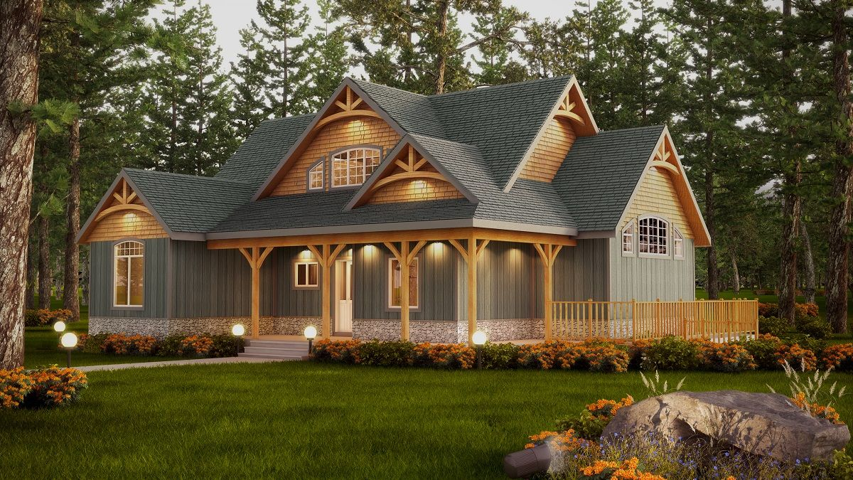 Timberframe Homes Discovery Dream Homes Rustic House Plans Lake House Plans Timber Frame Home Plans