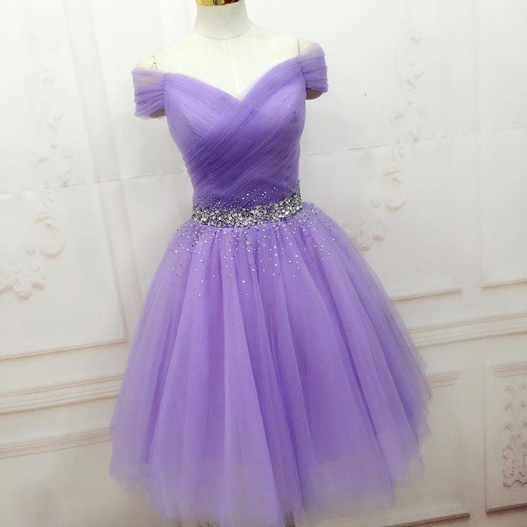Elegant Prom Dress, Tulle Prom Dress,Short Prom Dress, | Homecoming ...