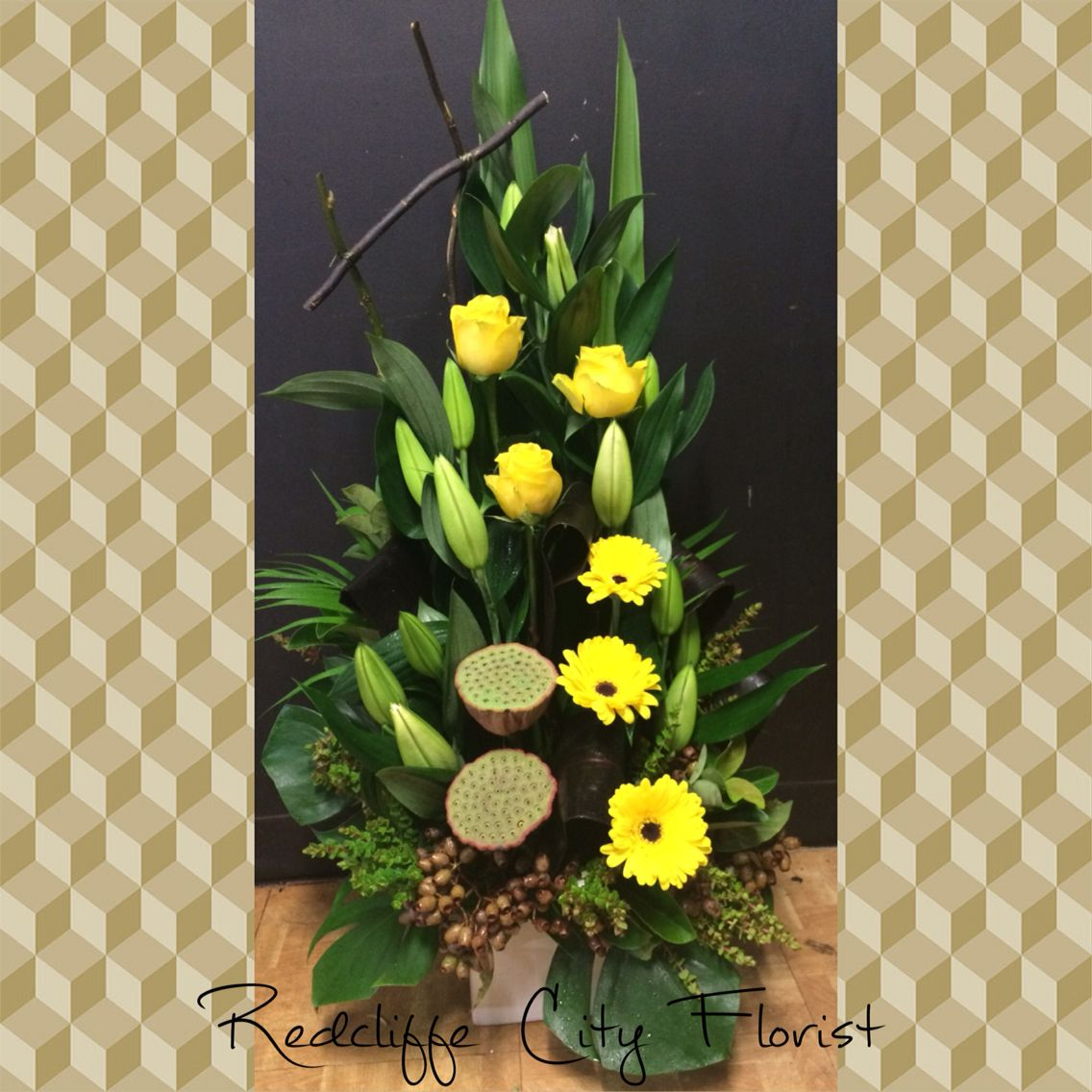 Made With Love From Redcliffe City Florist/Wedding Flowers & Coffee Cups