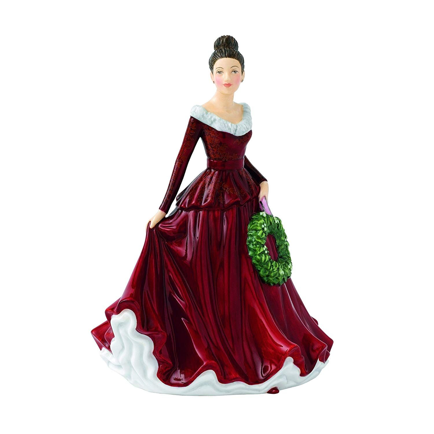 Royal Doulton Songs Of Christmas Phase 2 Mistletoe And Wine Figurine Click Image For More Details T Royal Doulton Royal Doulton China Christmas Figurines