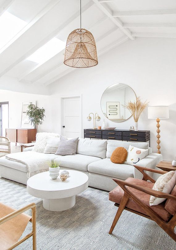 Amanda's modern neutral home with artistic touches | Home & Living