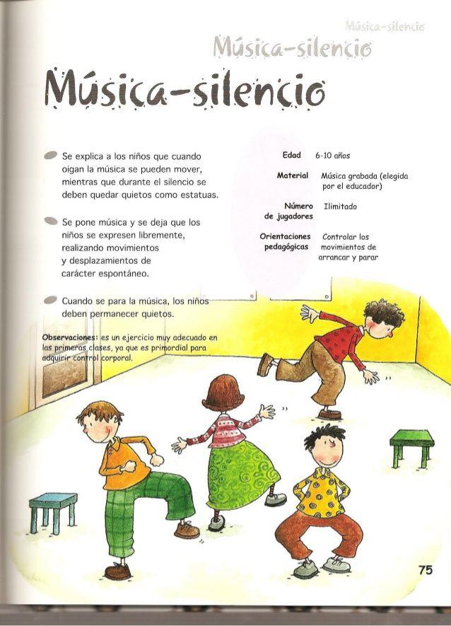 Juegos De Música Y Expresión Corporal Actividades Musicales Preescolares Juegos De Expresion Corporal Juegos De Música