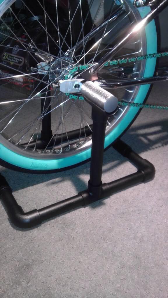 Bike Stand Diy, Diy Gym Equipment
