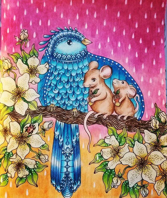 Sommarnatt/Summer Nights/Hanna Karlzon | Adult coloring | Pinterest ...