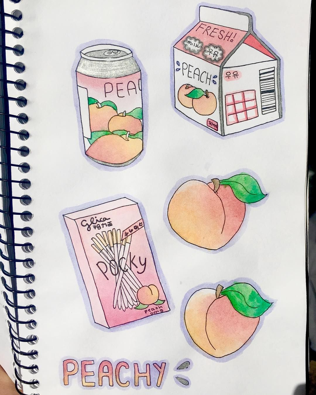 Peachy Things Peach Aesthetic Aesthetic Drawing