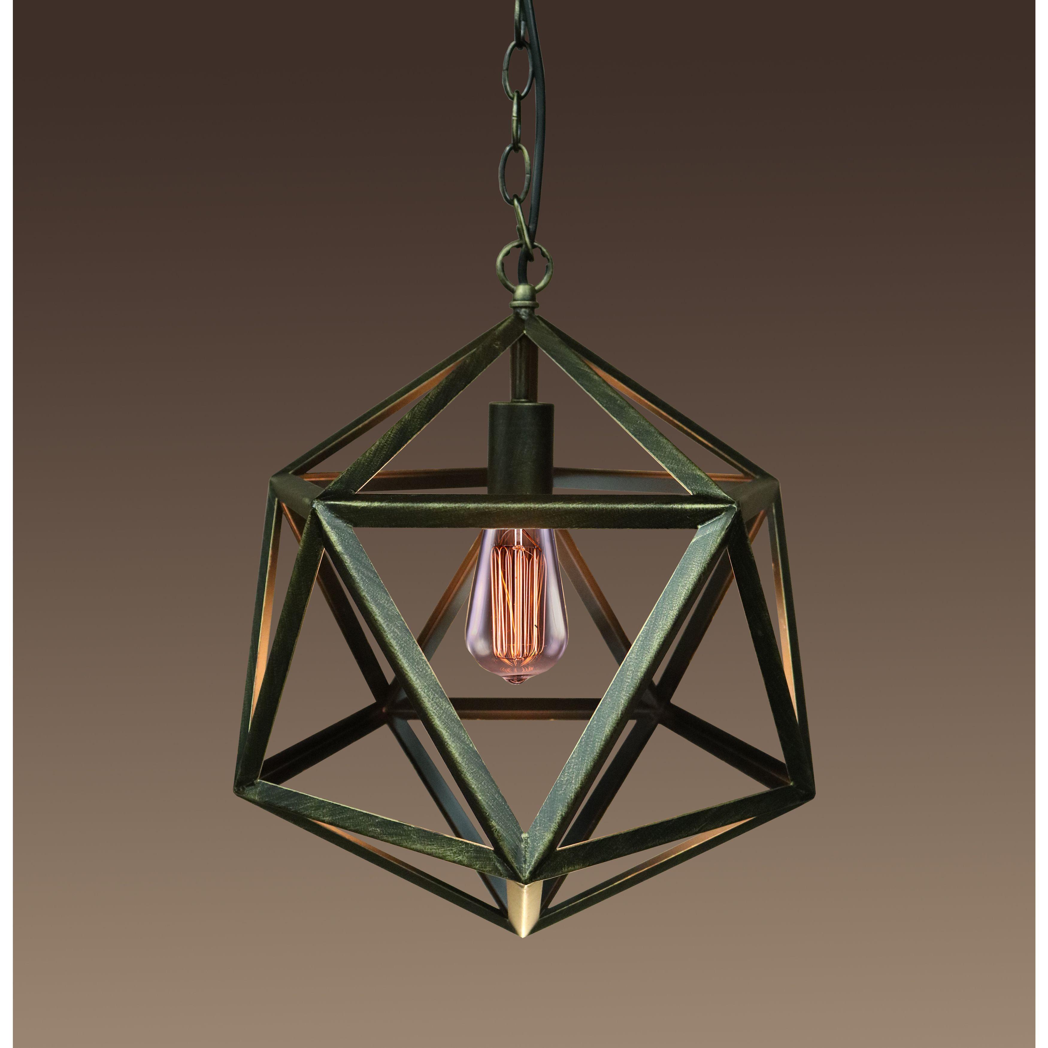 Warehouse of tiffany lupia inch light hexagon bronze edison