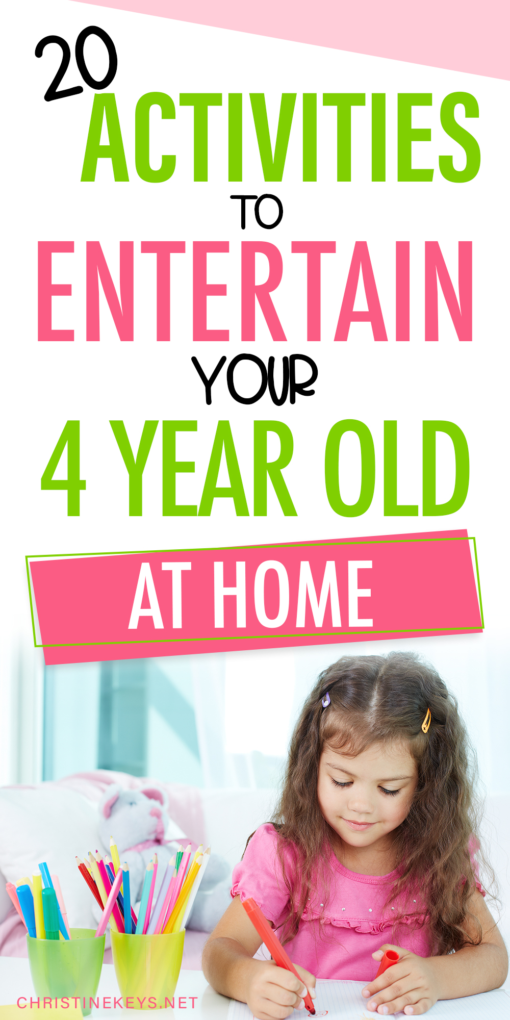 20 Activities for 4 Year Olds to Do at Home 4 year old