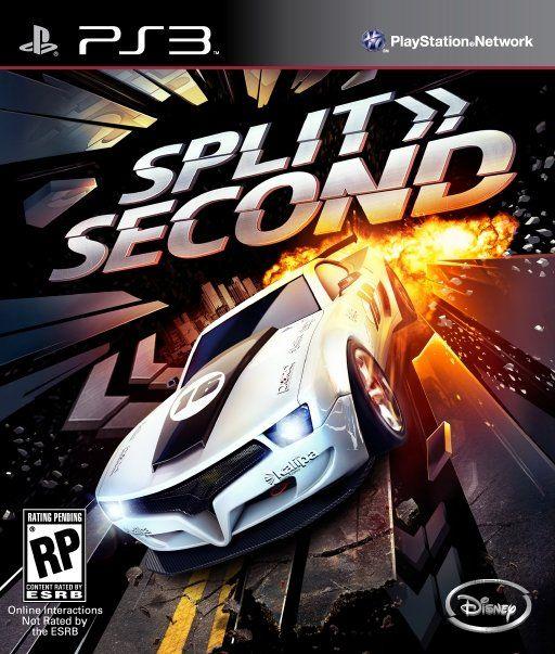 Kết quả hình ảnh cho Split Second cover ps3