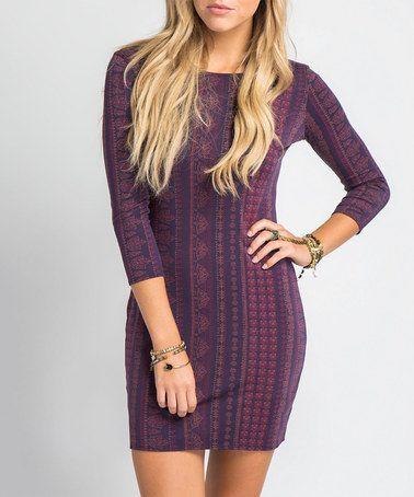 Look what I found on #zulily! Midnight Nika Dress #zulilyfinds