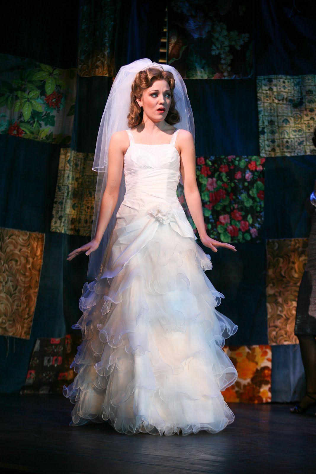 Wedding Dress Double Love Laura Osnes One Shoulder Wedding Dress Wedding Dresses