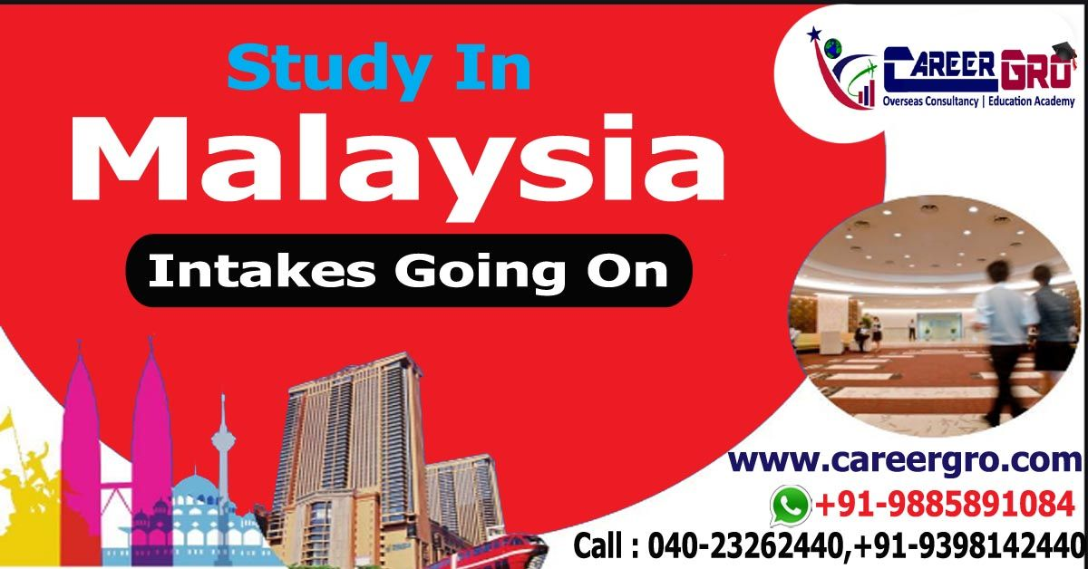Study In Malaysia Intakes Going On .Further Details