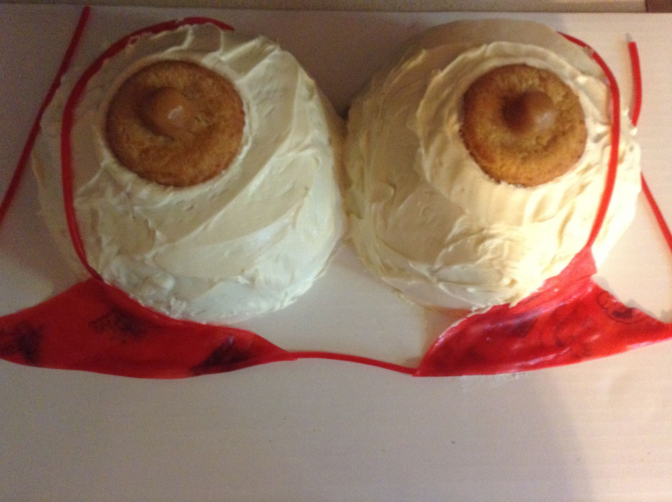 How To Make Nipples For Boob Cakes