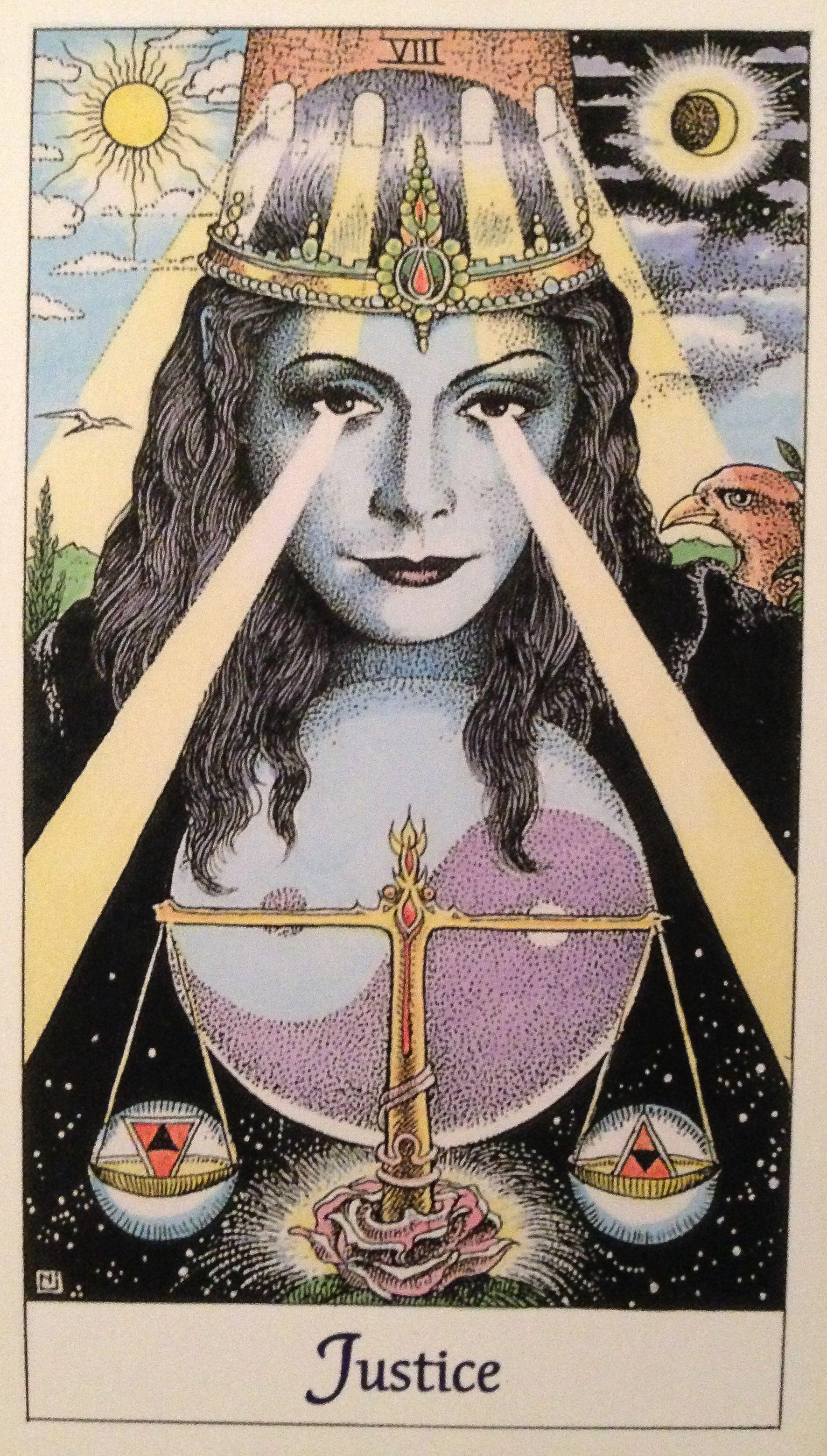 Libra Astrology Zodiac Tarot Justice Cosmictarot Tarotcards Scales Yingyang Horoscope With Images Tarot Cards Art