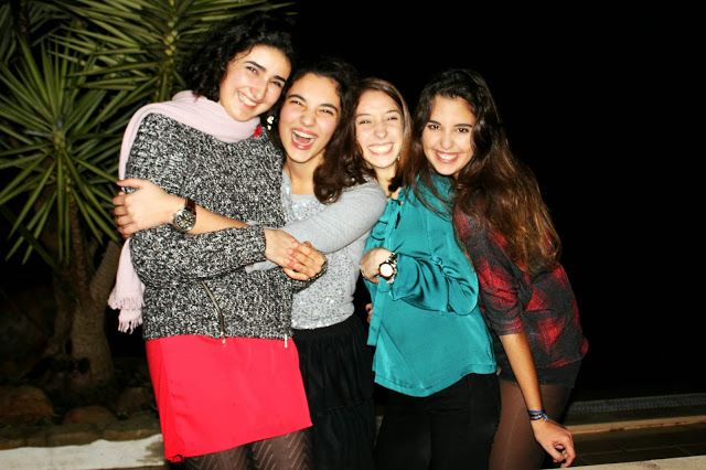 Happy new year!  Me and my friends at NYE Party!