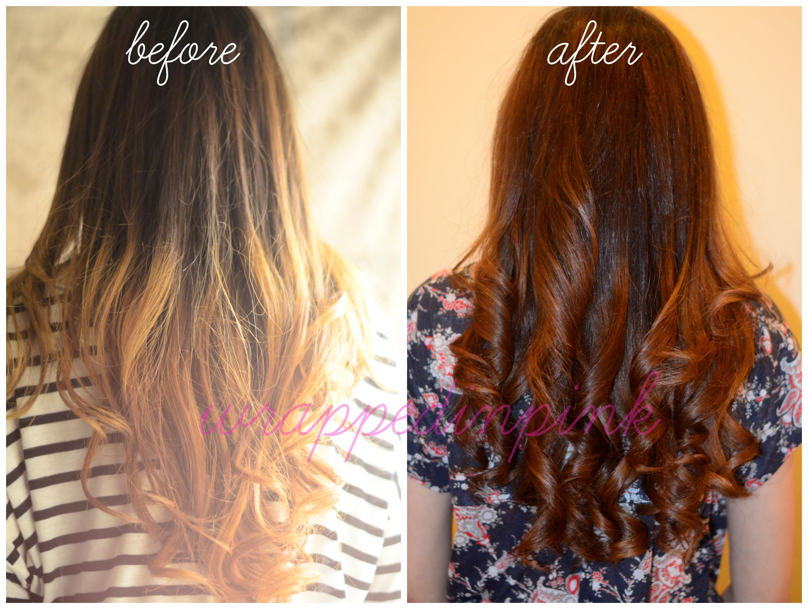 before after hair gloss - Google Search