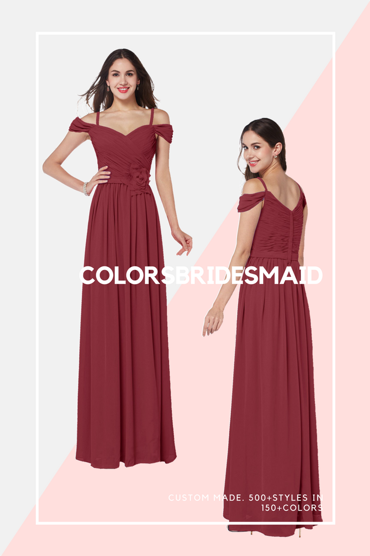 Floor Length Bridesmaid Dresses Under 100