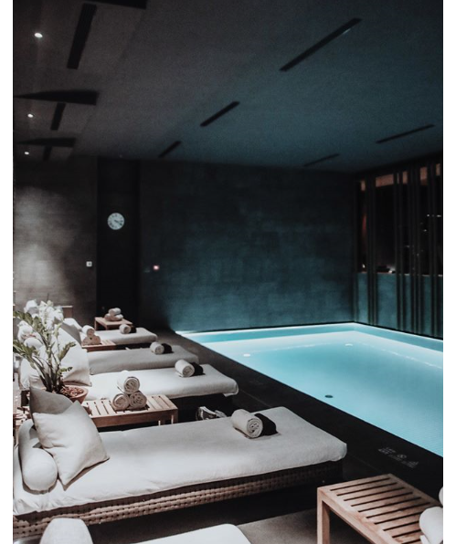 See My Selection Of Luxury Hotels And Spas Including Luxury Winter Spa Blue Lagoon In Iceland At Themonsyeursjourn Spa Interior Design Spa Rooms Spa Interior