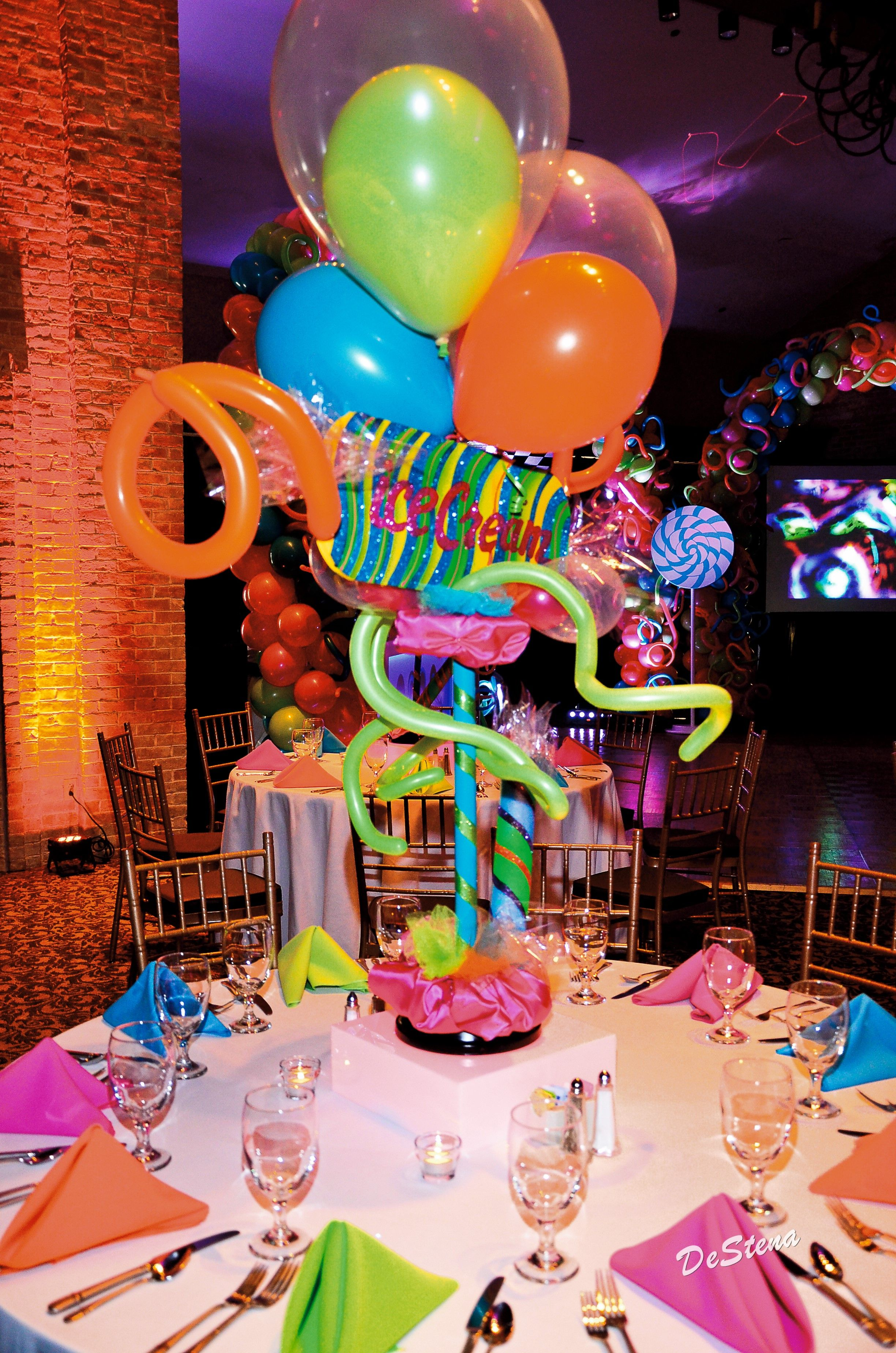 Candy Theme Bar Mitzvah Tie A Bow Event Planning Dallas Texas