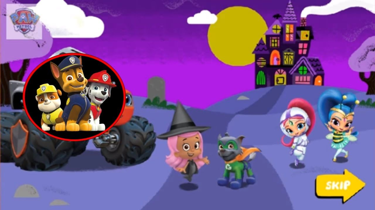 Halloween House party 2017 | Watch & Play Game PAW Patrol on Nick Jr ...
