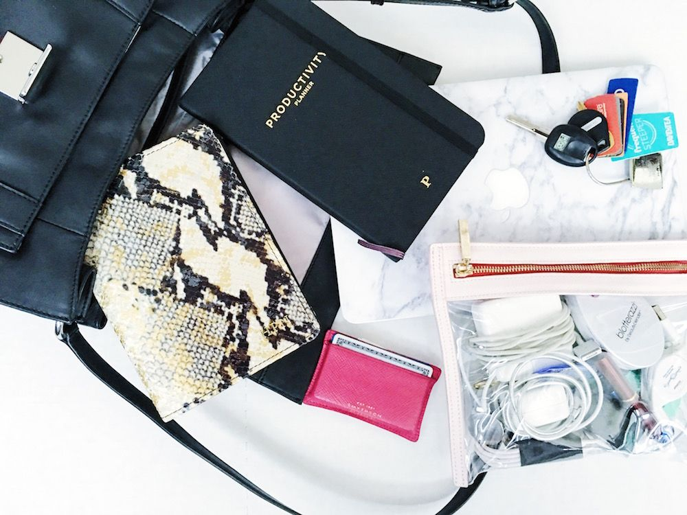 What To Pack In Your Work Bag For Your Most Productive Day Womens Work Bag Work Bag Work Handbag